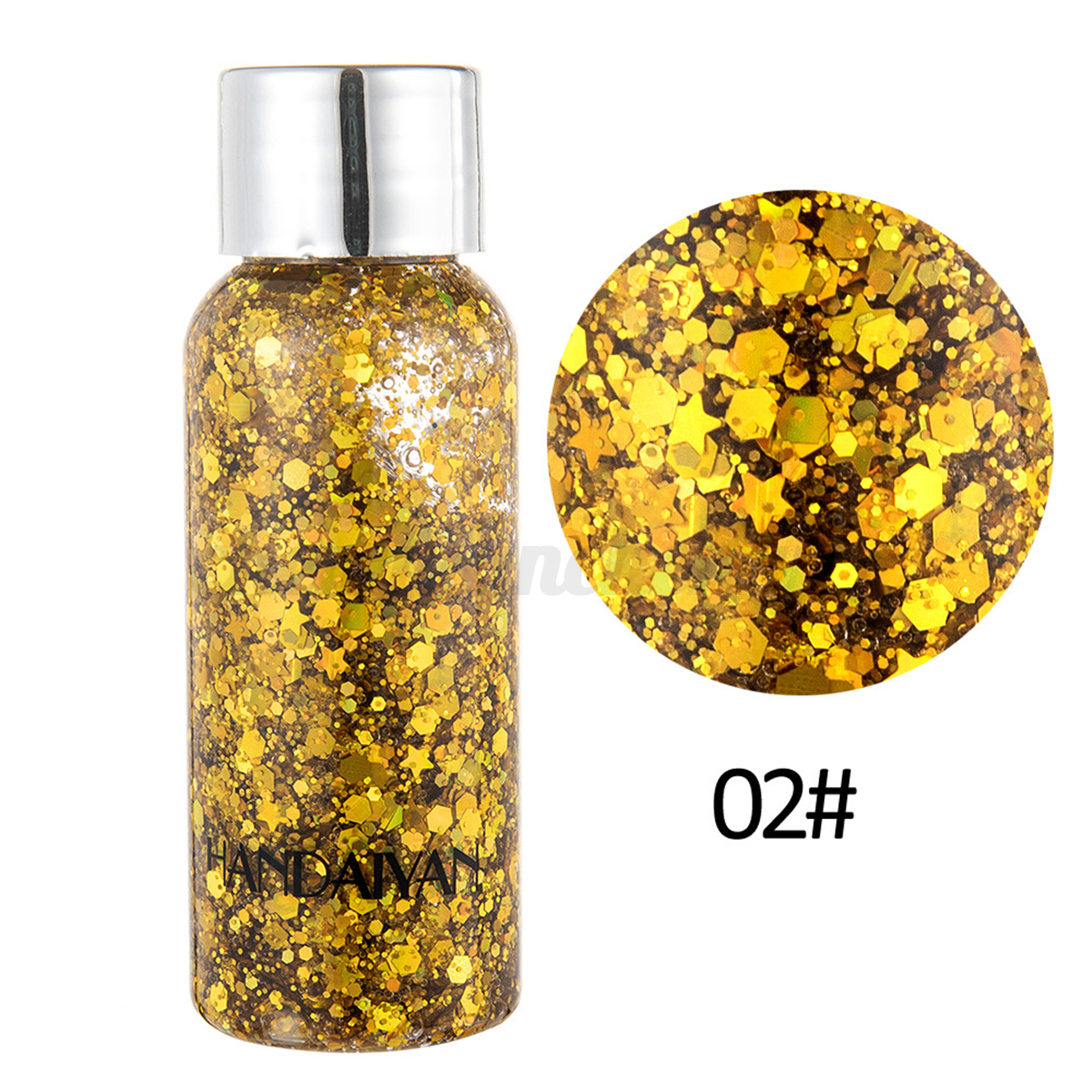Holographic-Glitter-Sequins-Festival-Face-Hair-Body-Makeup-Nail-EyeShadow-Gel thumbnail 14
