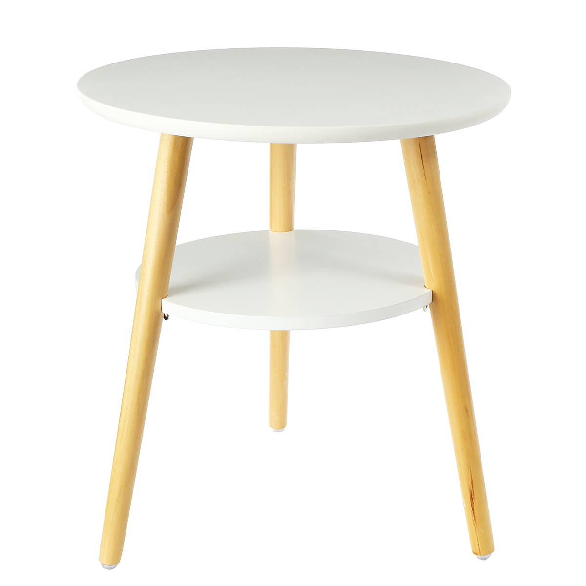 40cm Round Double Side End Table Coffee Tea Living Room Home ...