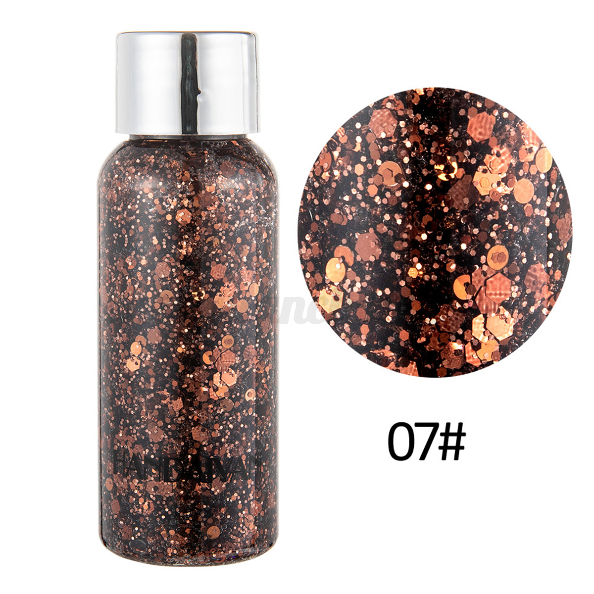 Holographic-Glitter-Sequins-Festival-Face-Hair-Body-Makeup-Nail-EyeShadow-Gel thumbnail 19