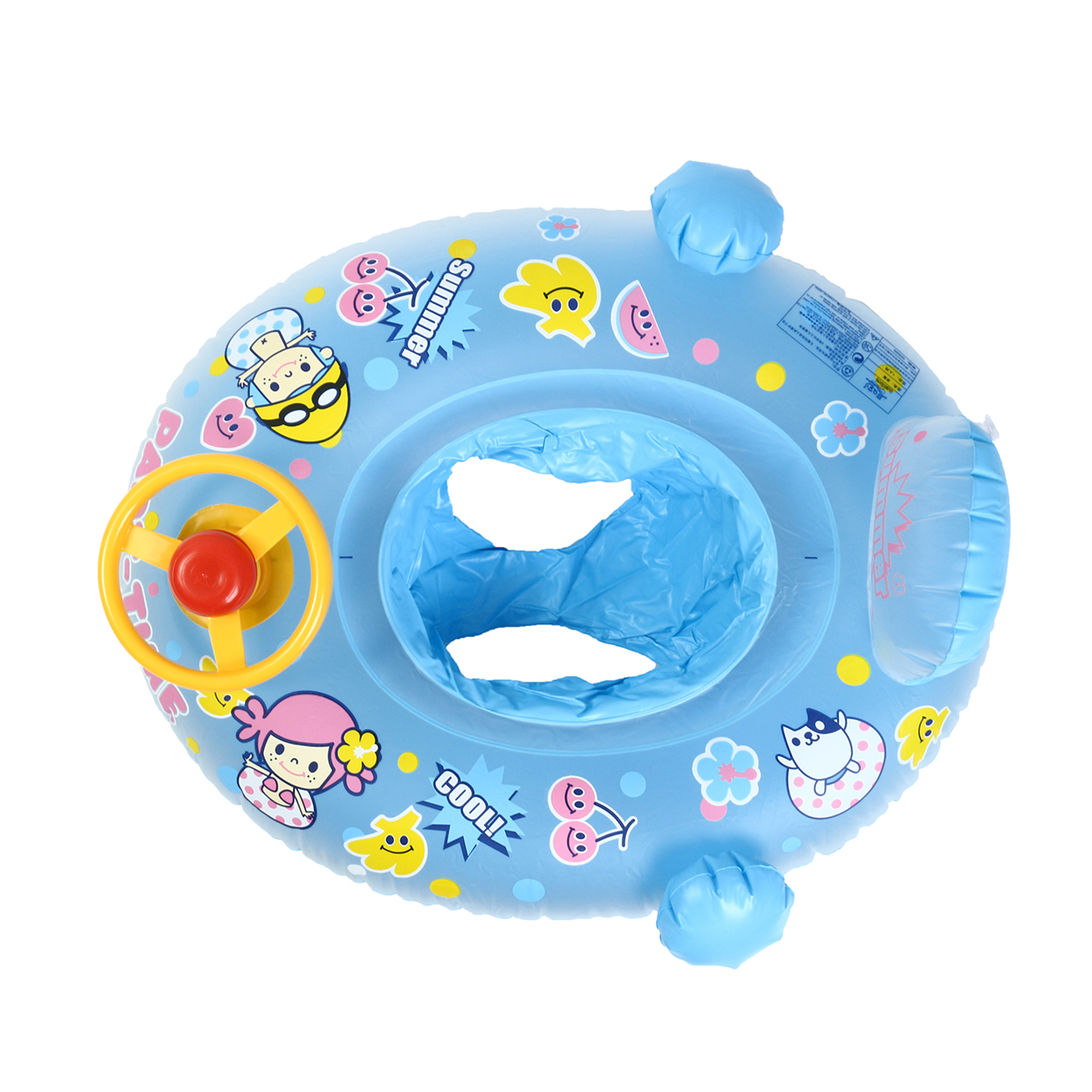 Baby Kids Safety Swimming Ring Inflatable Beach Pool Swim Float ...