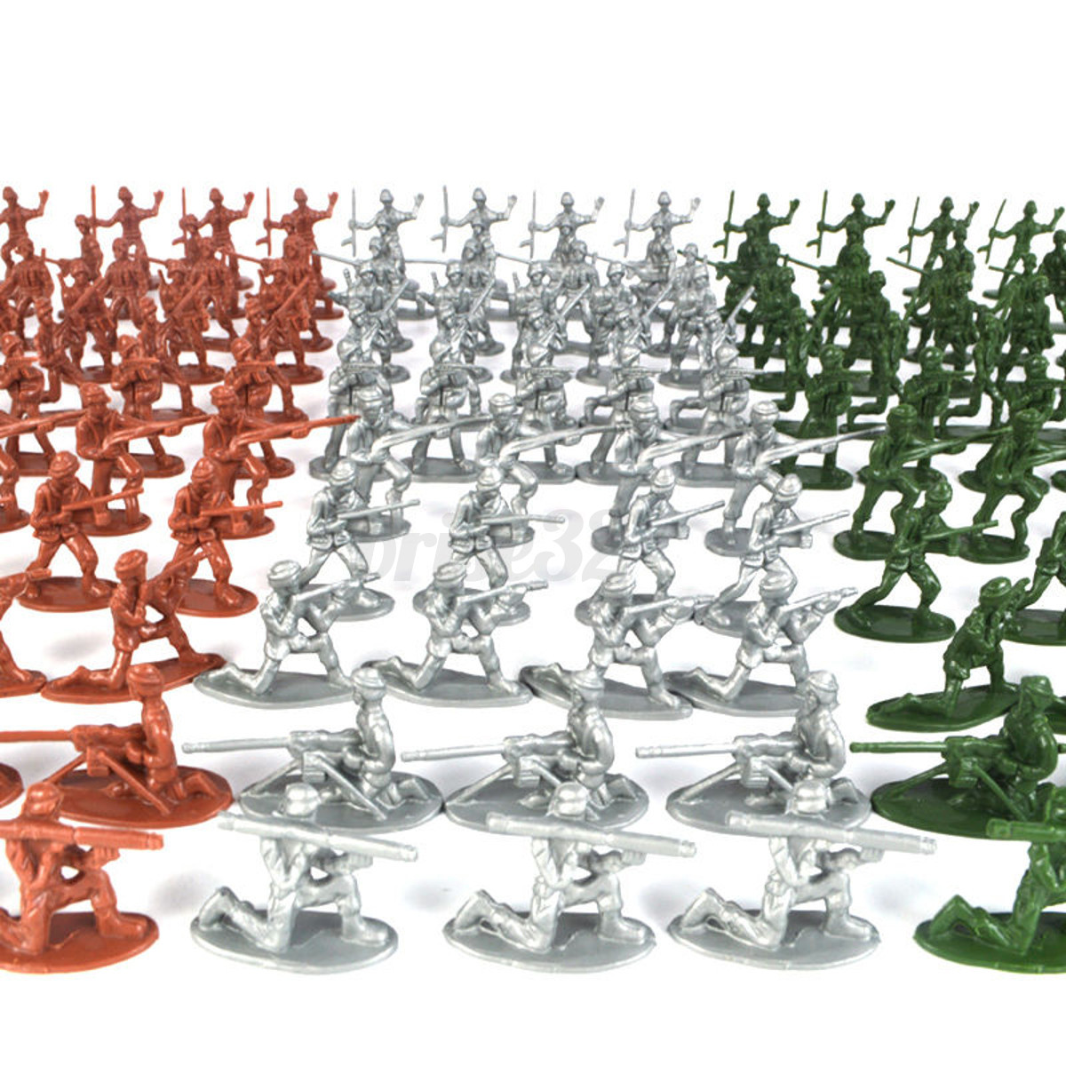Army Toys Color : Pcs military plastic toy soldiers army men tan figures
