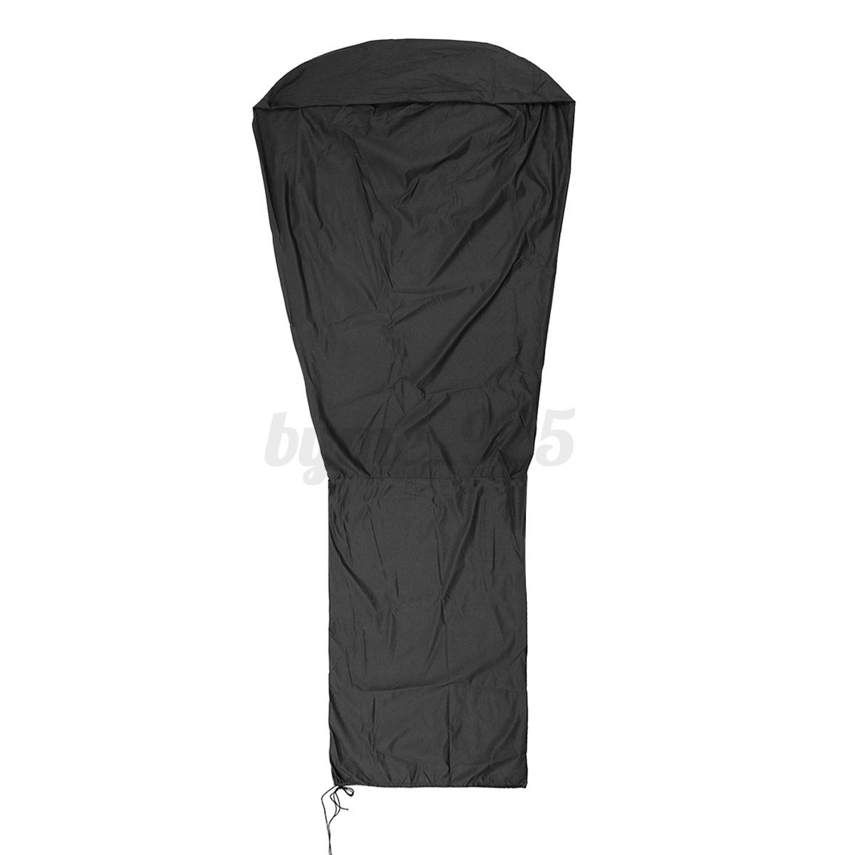 Vinyl-Waterproof-Stand-Up-Heater-Cover-Garden-Outdoor-Patio-Dustproof-Protector