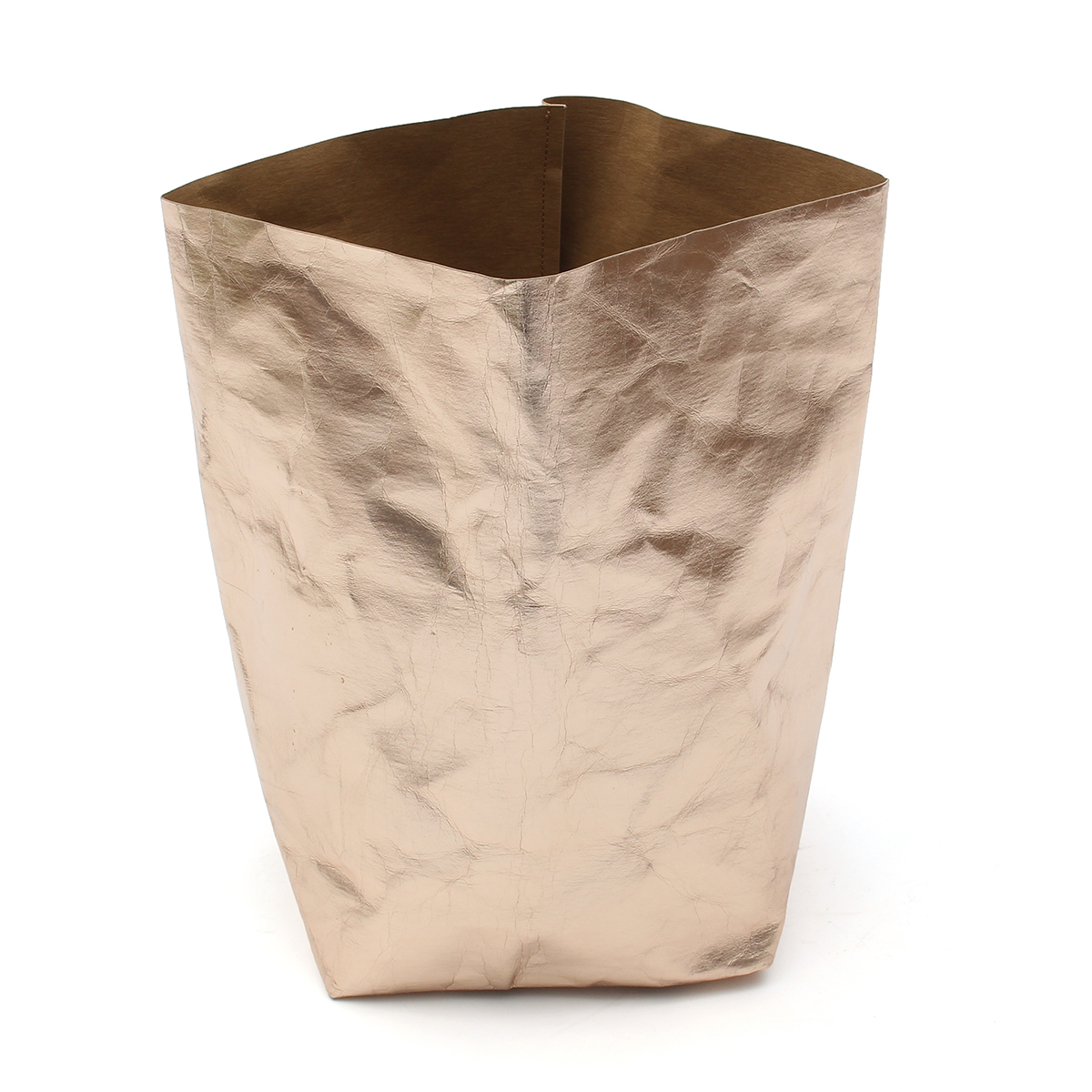 Washable Kraft Paper Bag Plant Flowers Pots Multifunction