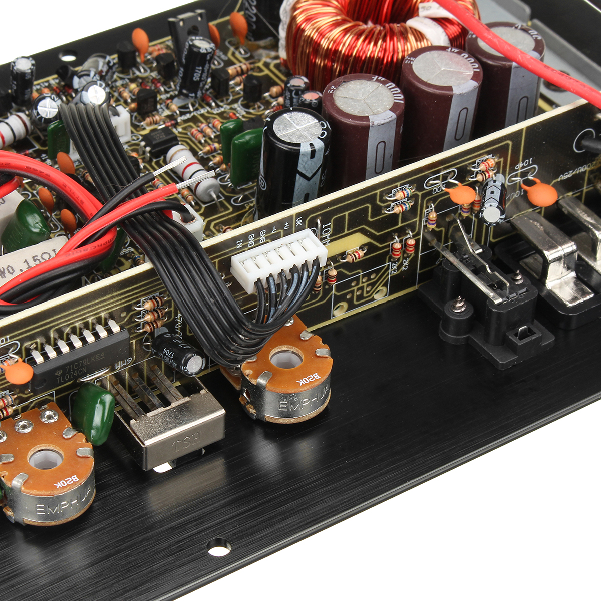 12v 1000w Mono Car Audio Power Amplifier Powerful Bass Board Electrical Installation Durante Electric Inc Pa Detail Image