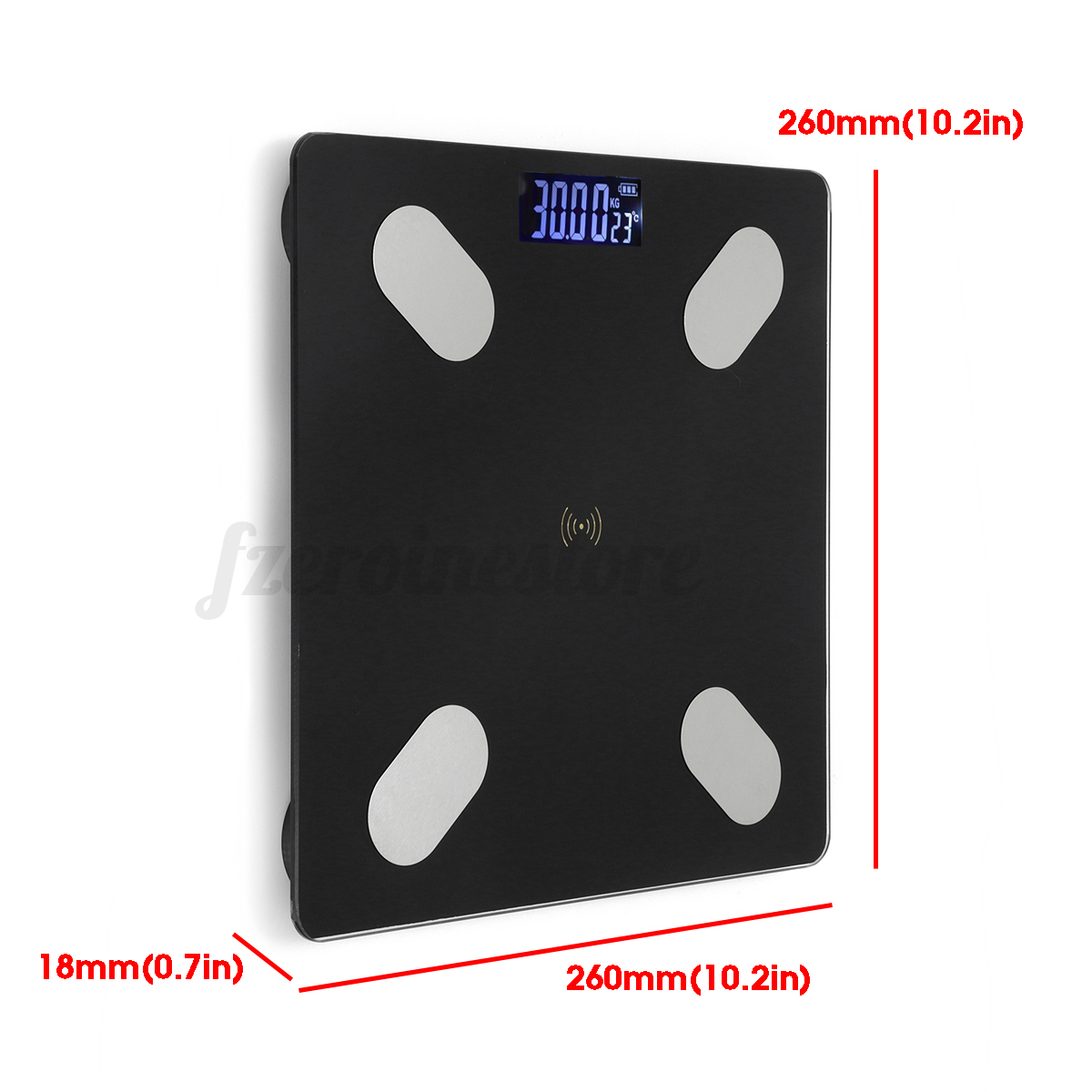 LED-bluetooth-Wireless-Digital-Bathroom-Weight-Scale-Body-Fat-Measures-Weight thumbnail 11