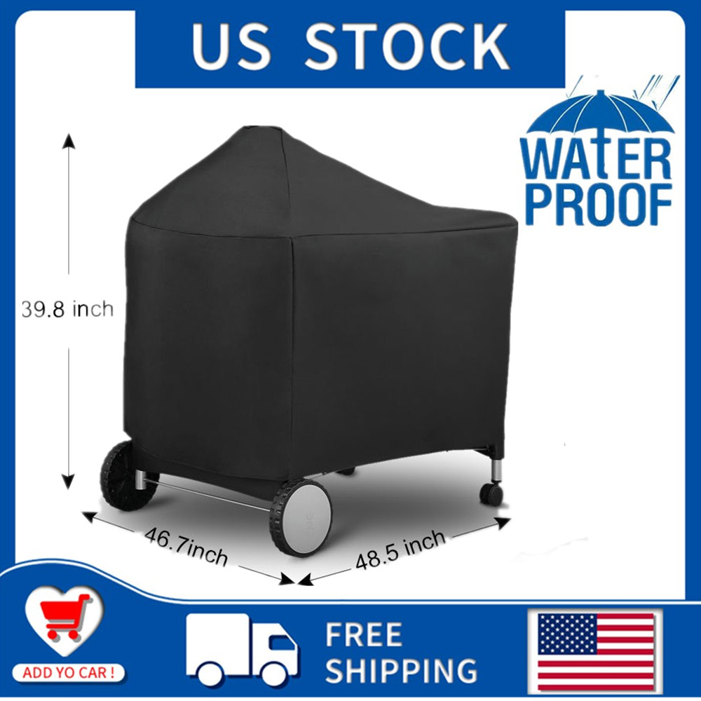 For Weber 7152 Grill Cover with Storage Bag for Performer Pr