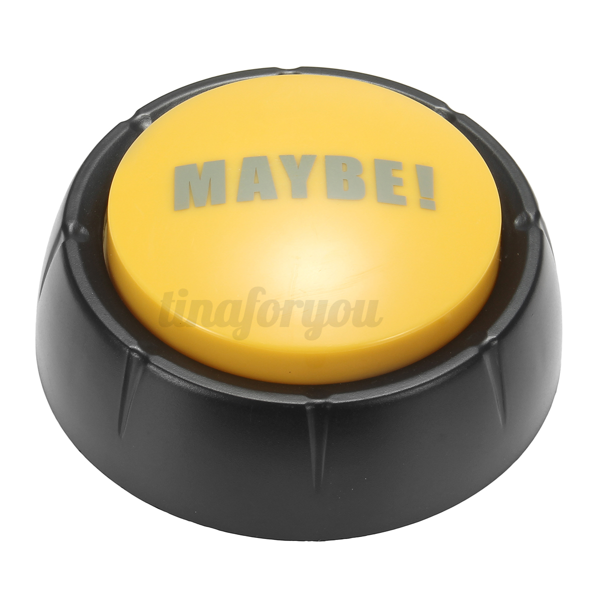 85db-YES-NO-SORRY-MAYBE-Taking-Sound-Button-Event-amp-Party-Tool-Fun-Gift-Plastic