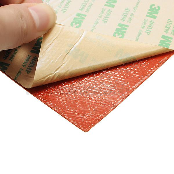 wasserdicht thermistor silikon beheizte pad druckplatte f r 3d drucker heizbett ebay. Black Bedroom Furniture Sets. Home Design Ideas
