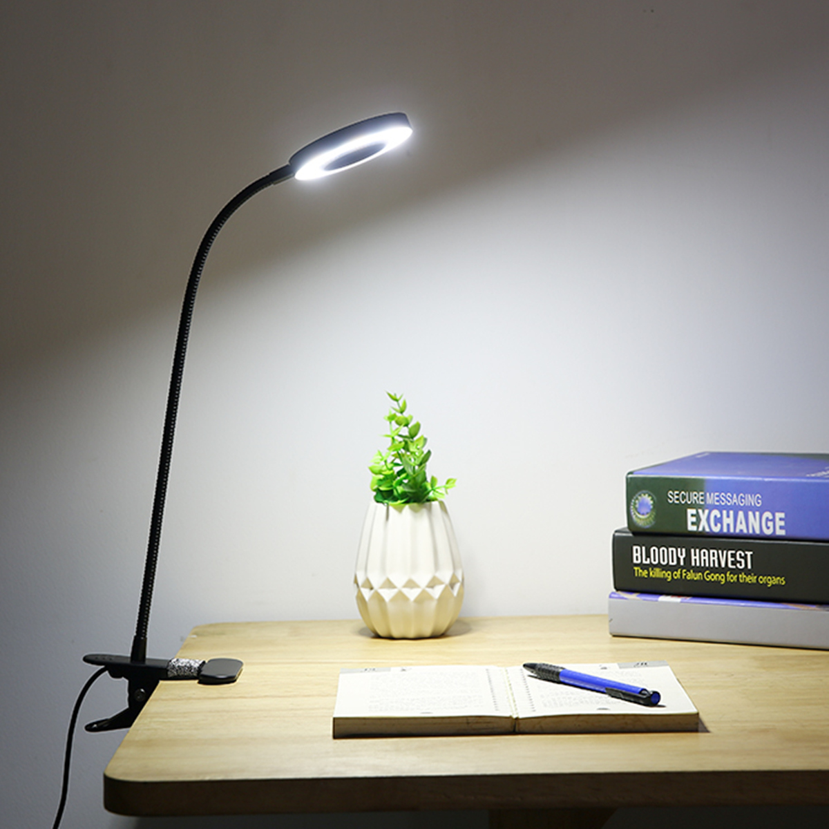 Protect Eye Reading Led Desk Lamp Rotary Lamp Holder Tricolor Lamp Lights & Lighting Led Night Lights