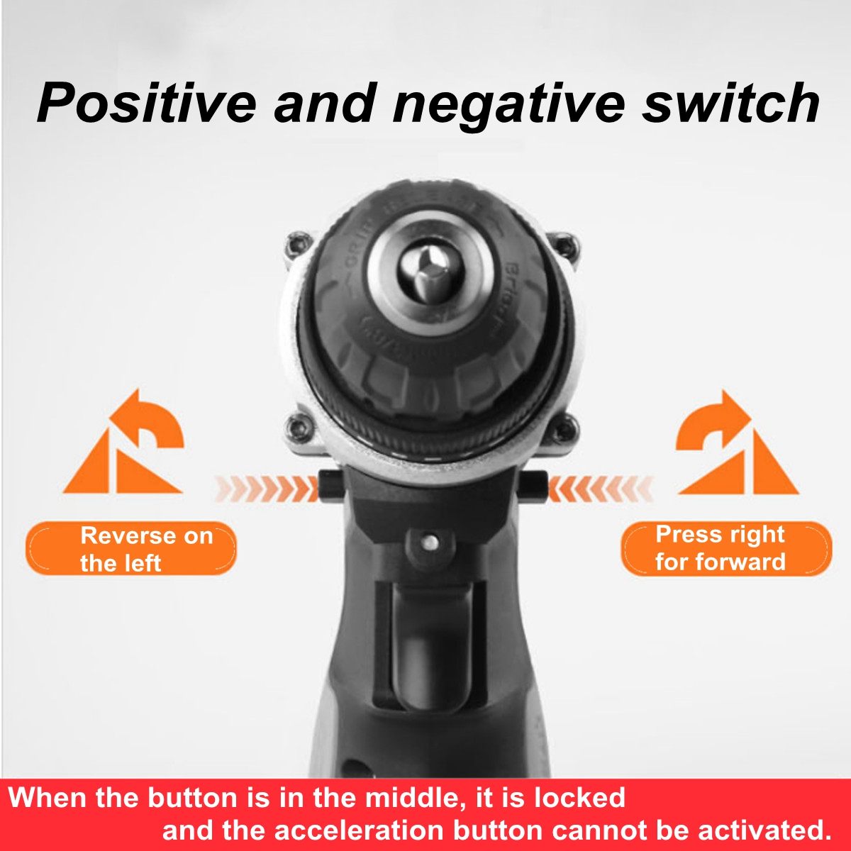 36V-3-8-039-039-5-0ah-Cordless-Drill-Double-Speed-25-Torque-LED-2-Pcs-Li-ion thumbnail 3