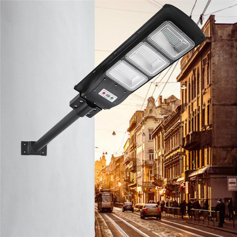 30 60 90w Led Solar Street Light Radar Pir Motion Sensor
