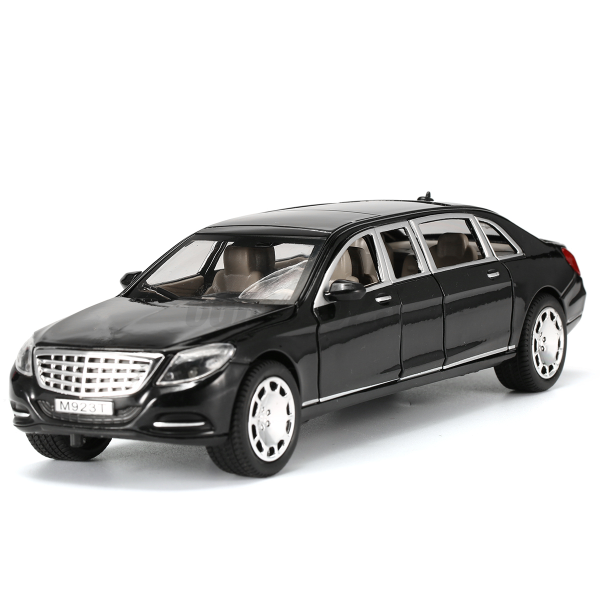 AU-1-24-Alloy-Model-Car-Kid-Toy-Kit-For-Mercedes-Maybach-S600-Limousine-In-Box