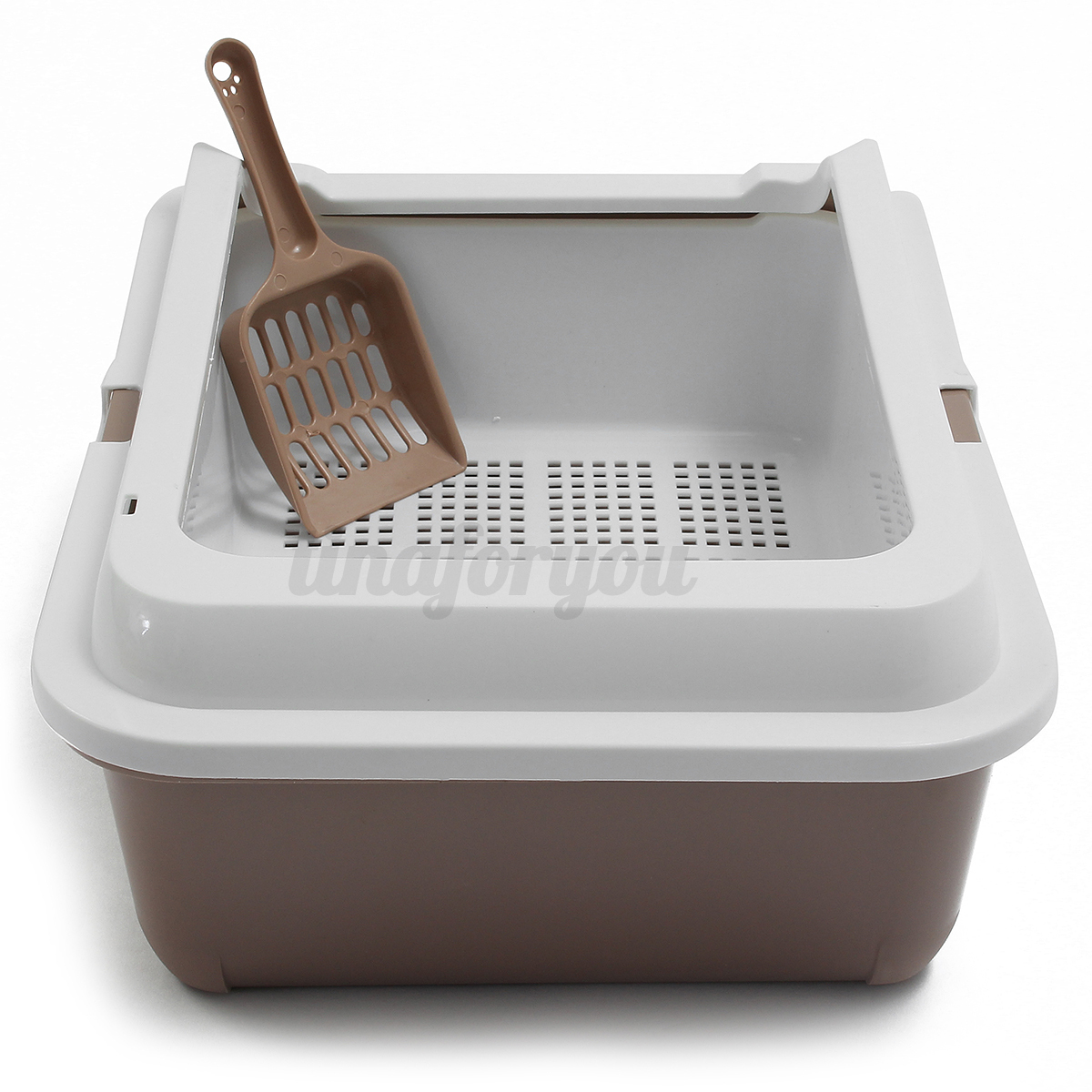 1pc Scoopless Sifting Cat Dog Rabbit Pet Litter Tray