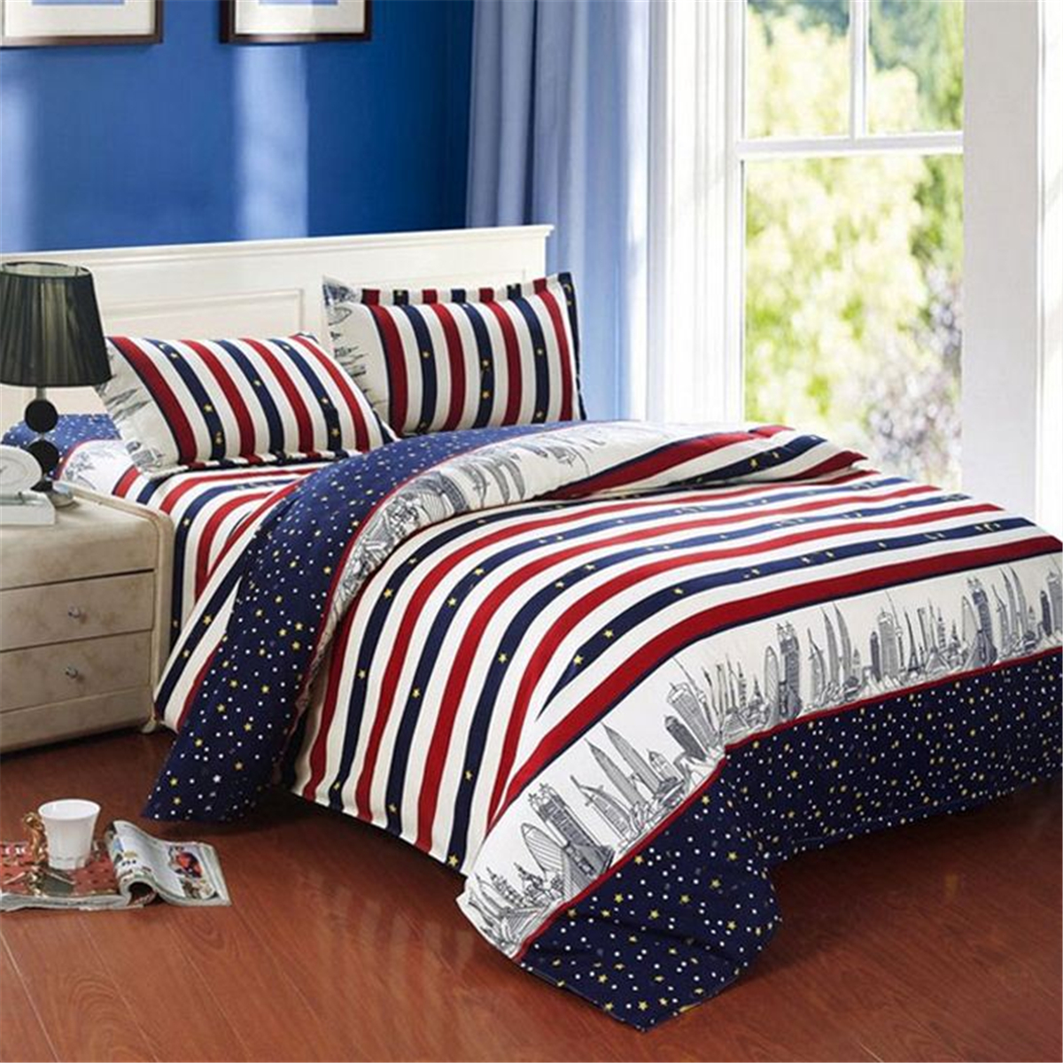 Duvet Quilt Cover Bedding Set Single Double Queen King