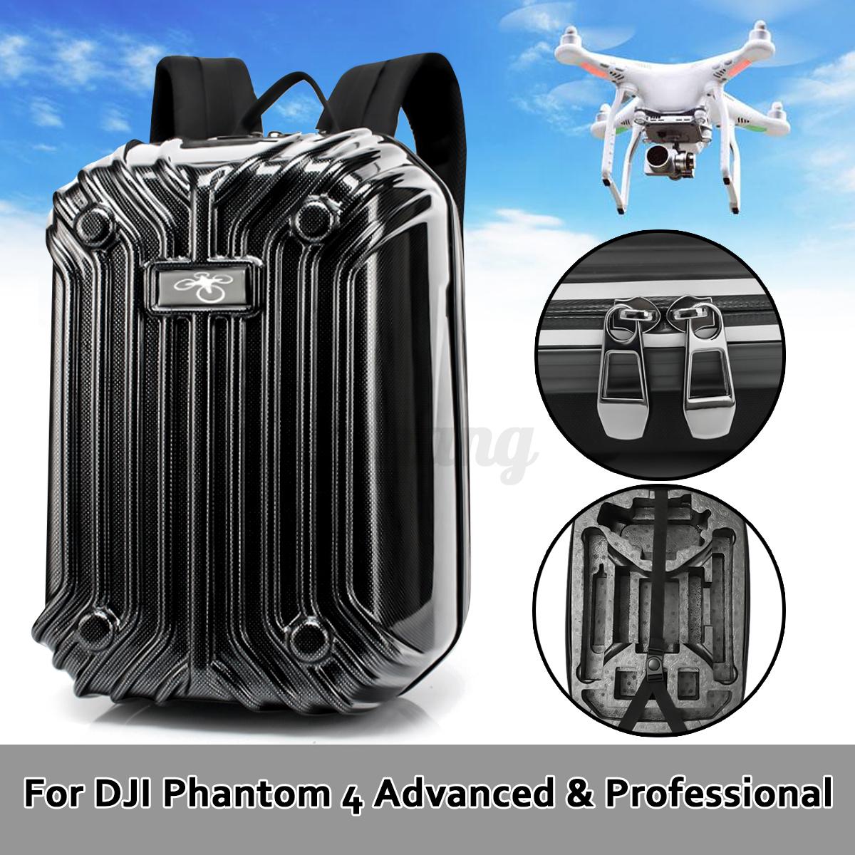 Backpack-Shoulder-Bag-Case-Hard-Shell-For-DJI-Phantom-3-4-Advanced-amp-Pro-Drone