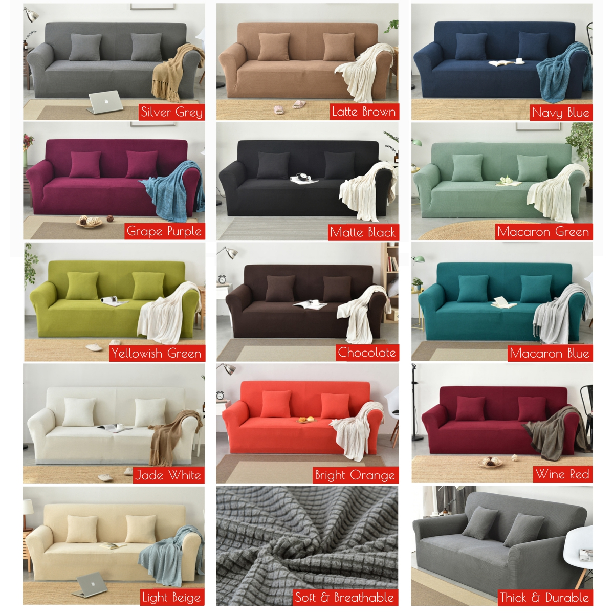 2 3 Seater Stretch Sofa Cover Lounge