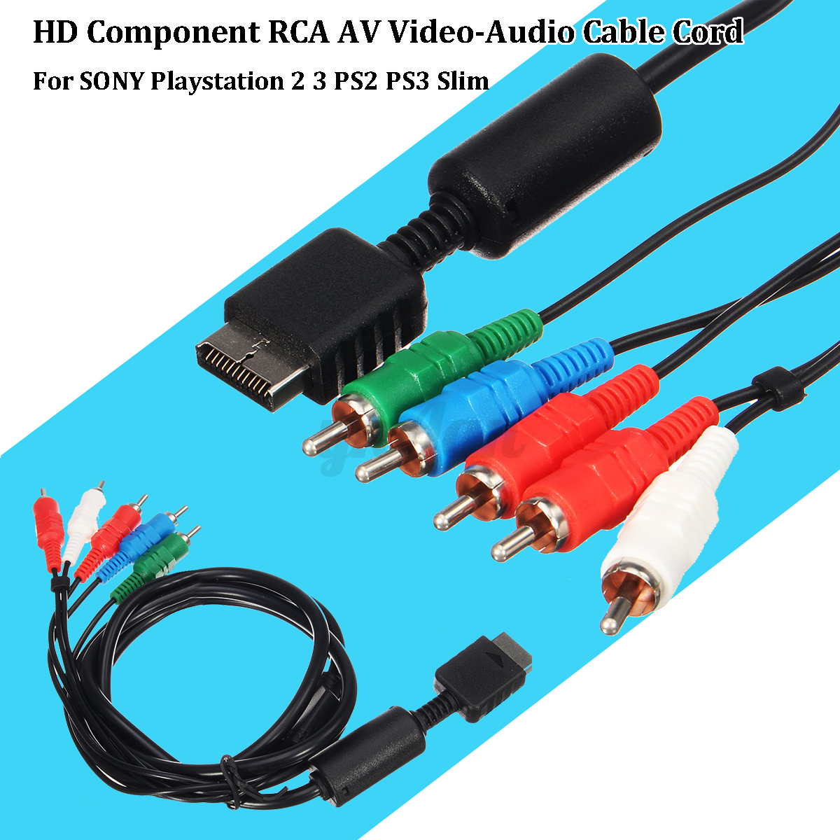 AV Multi Out to Component Video/Audio Cable Cord For Sony ...