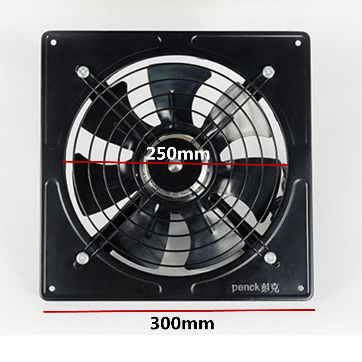 Industrie-Großraum-Ventilator-Lüfter Abluft Abzug Wand Gebläse Metallventilator