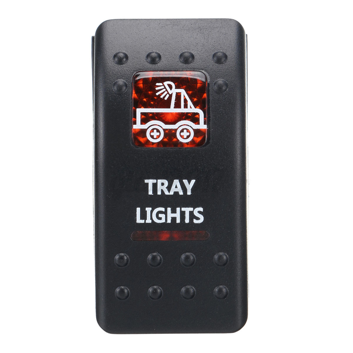 Boat-Car-Marine-Dashboard-Dash-Rocker-Switch-2-LED12V-24V-SPST-ON-OFF-Light-UK