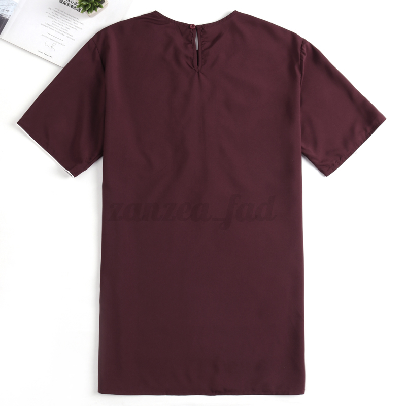 INCERUN-Vintage-Mens-African-Dashiki-Style-Cotton-Tops-Ethnic-T-Shirt-Tee-Tops thumbnail 4