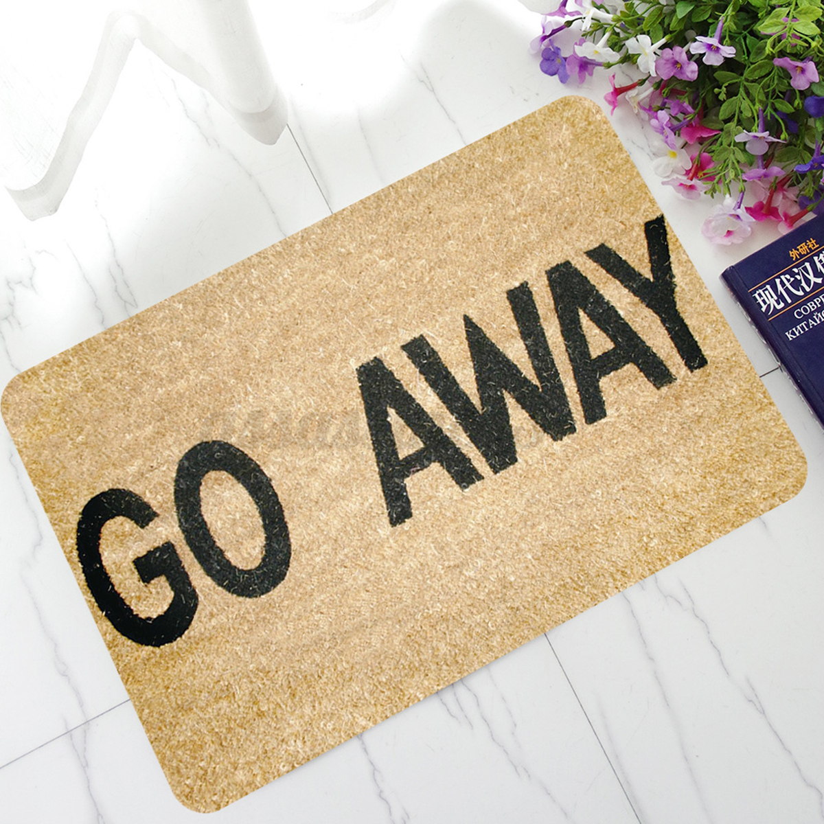 Letters Funny Door Mat Welcome Home Entrance Floor Rug Non