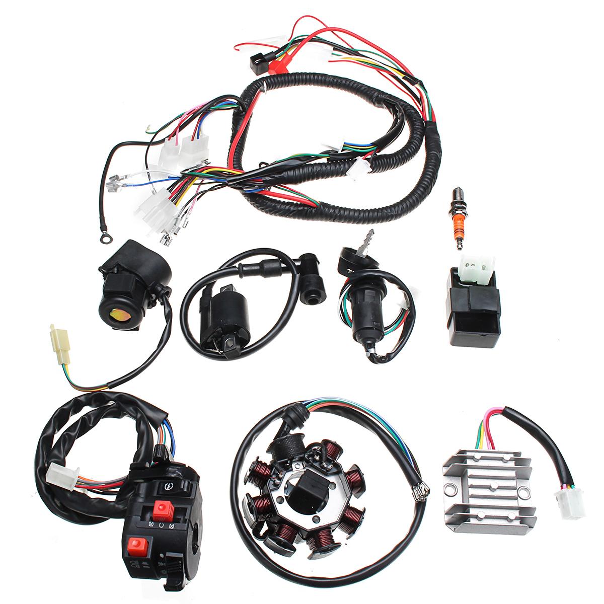 Electric Wiring Harness Wire Loom Cdi Motor Stator Full