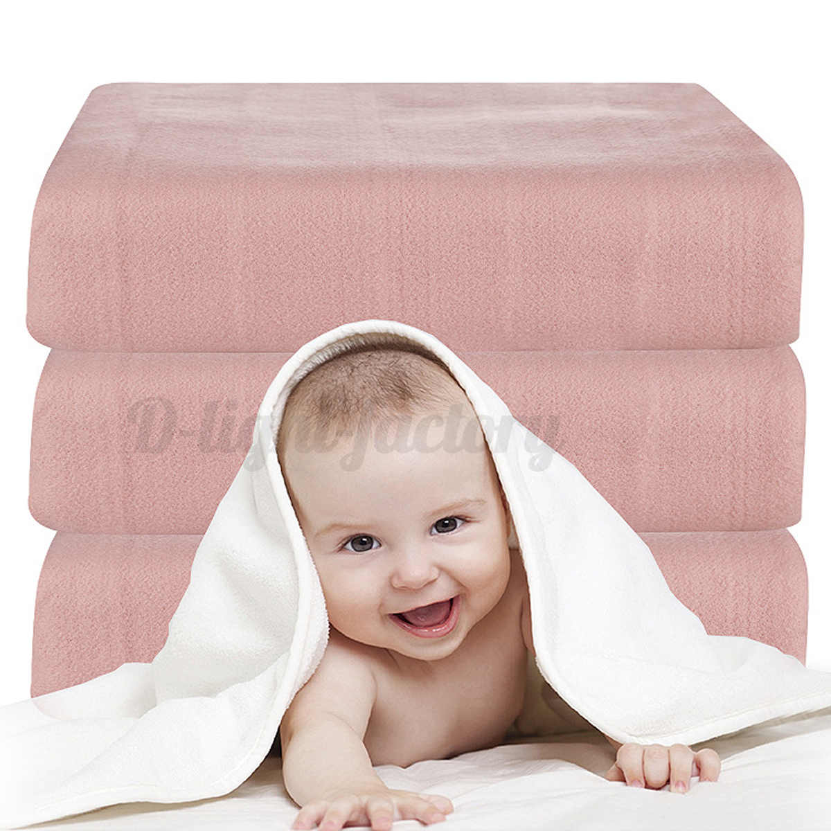 Electric-Heated-Blanket-Fully-Fitted-Under-Single-Double-King-Bed-Warm-Mattress