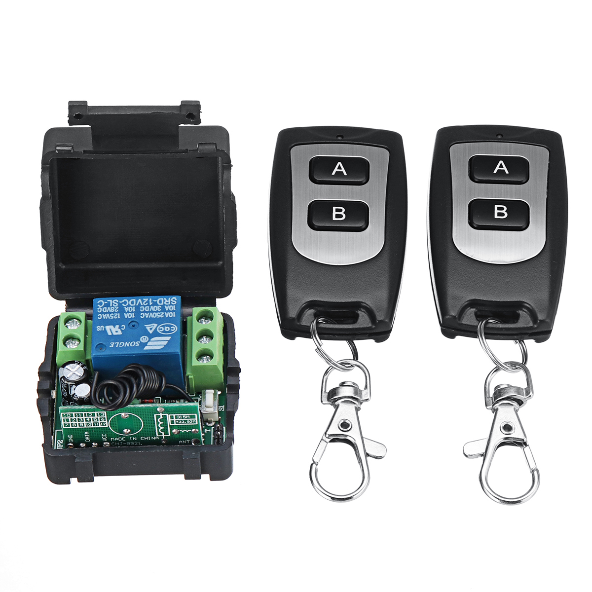433mhz 12v Relay 1 2 4ch Wireless Rf Remote Control Switch Controlled Toy Car Circuit With Transceiver Module