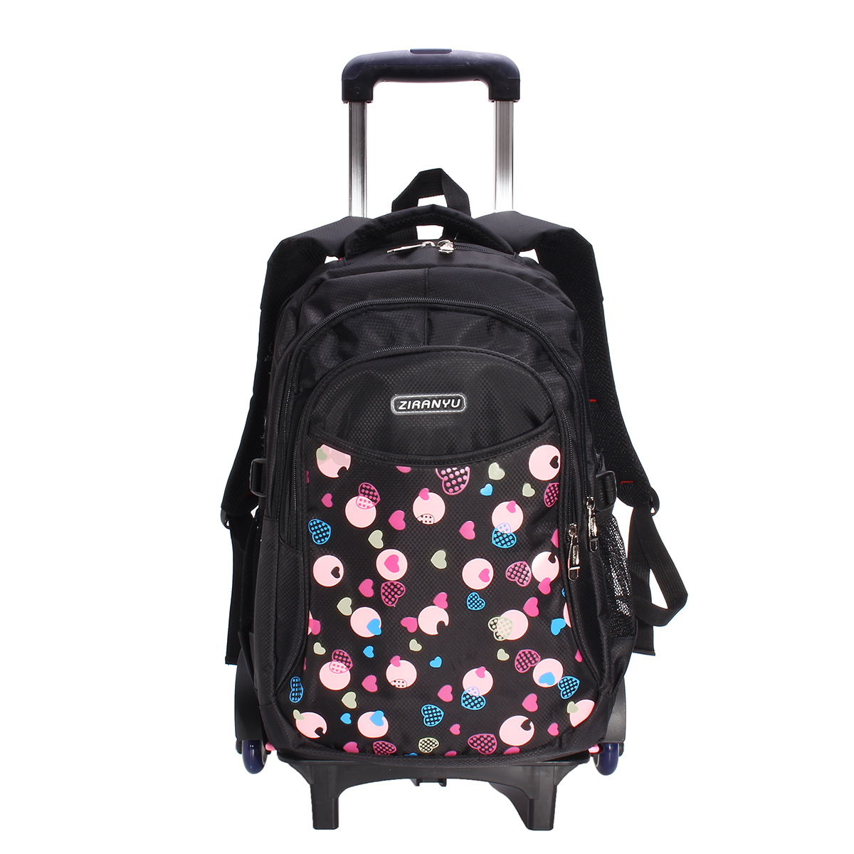 Children Kids Trolley Backpack School Bags with 6 Wheels ...