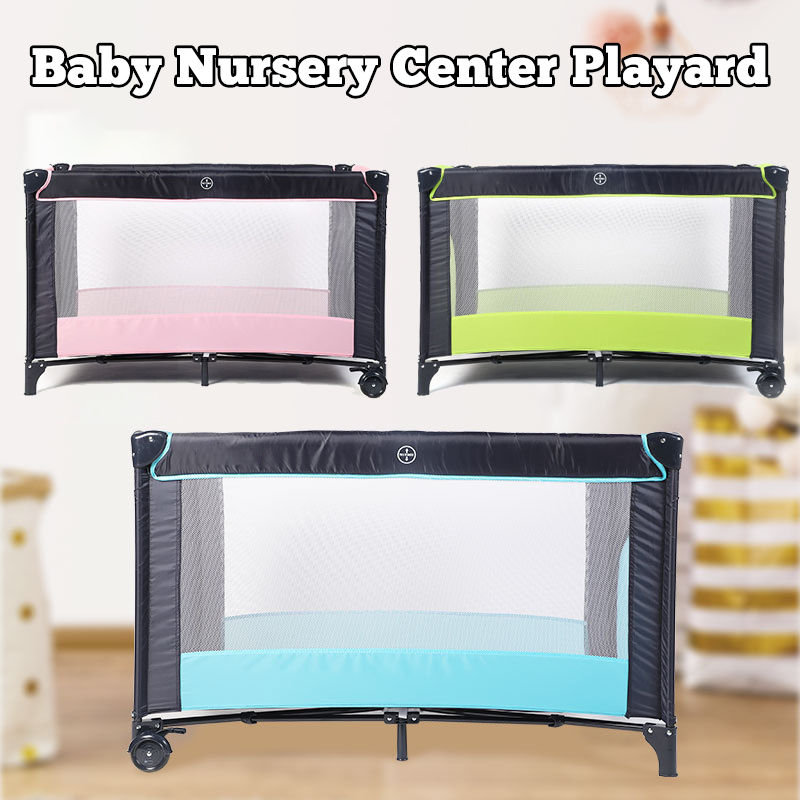 Baby Playard Cradle Bassinet Travel Portable Bed Playpen Tod