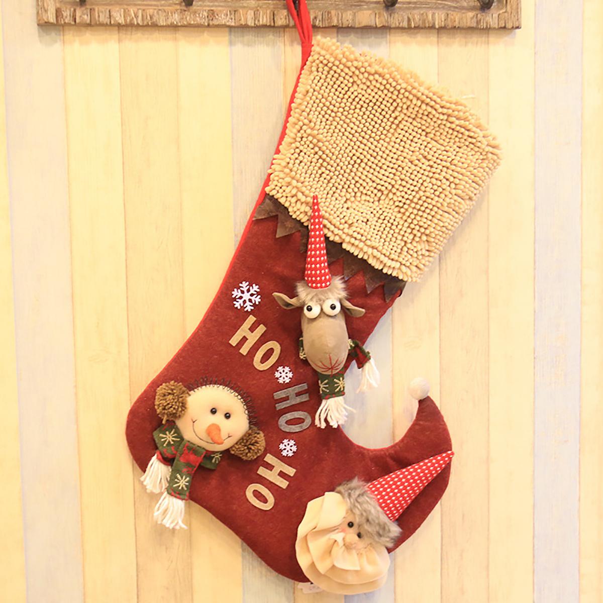 Nikolausstiefel Weihnachtssocke Kinder Geschenktasche Decoration ...