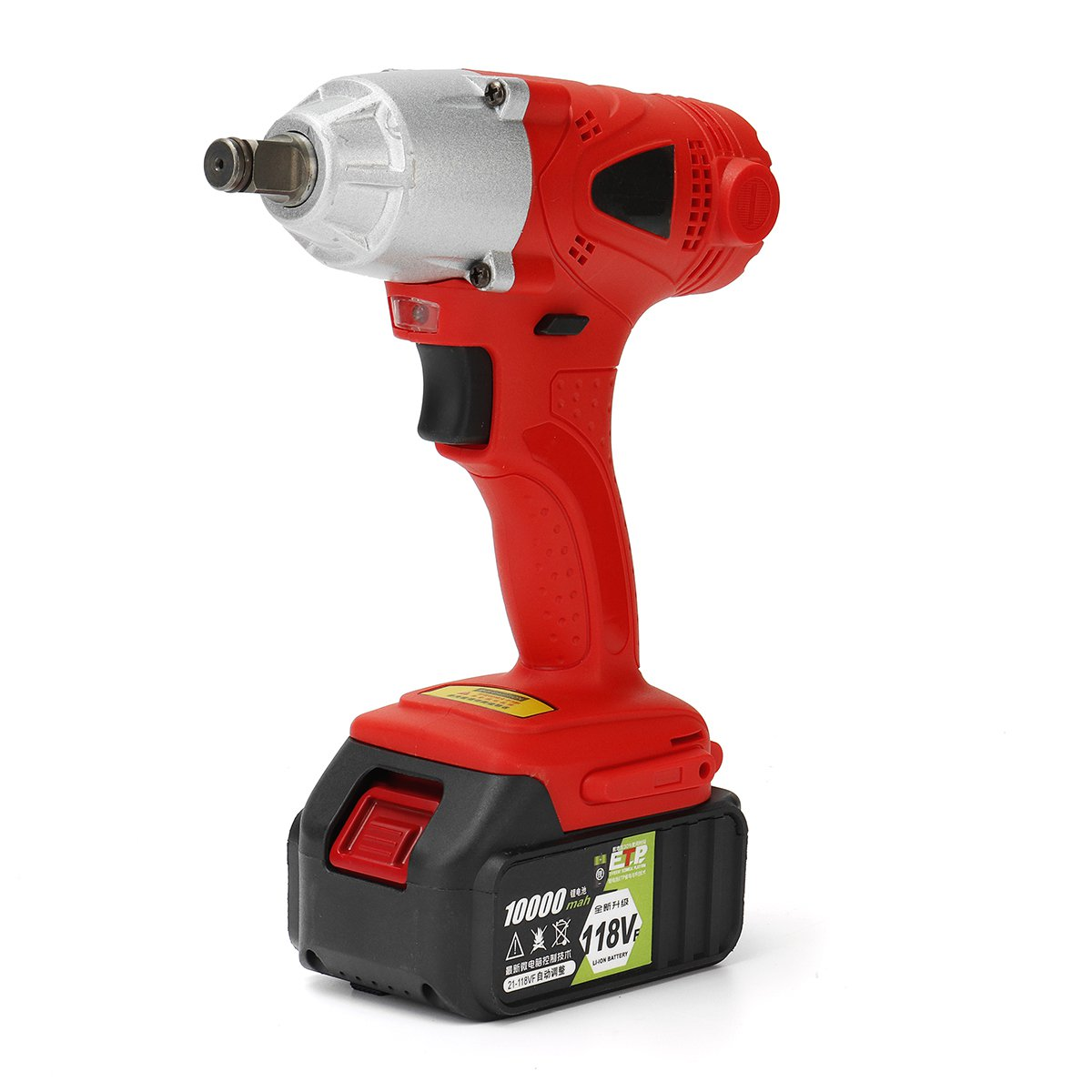 1 2 21v 118vf Electric Impact Wrench Cordless High Torque Tool 10000mah 9 Of 11