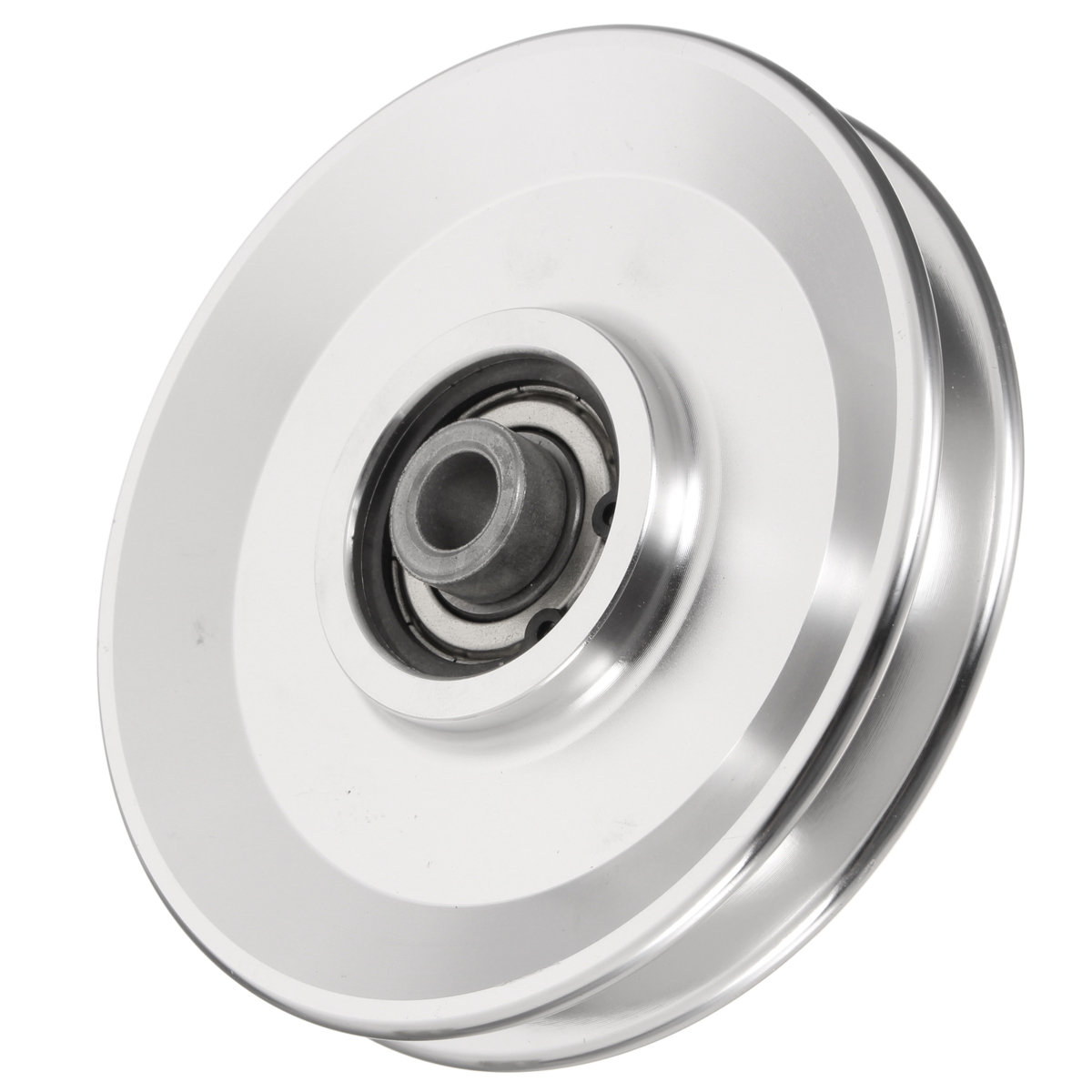 Fitness Equipment Parts: 73/95/110/114mm Silver Bearing Pulley Wheel Cable Gym