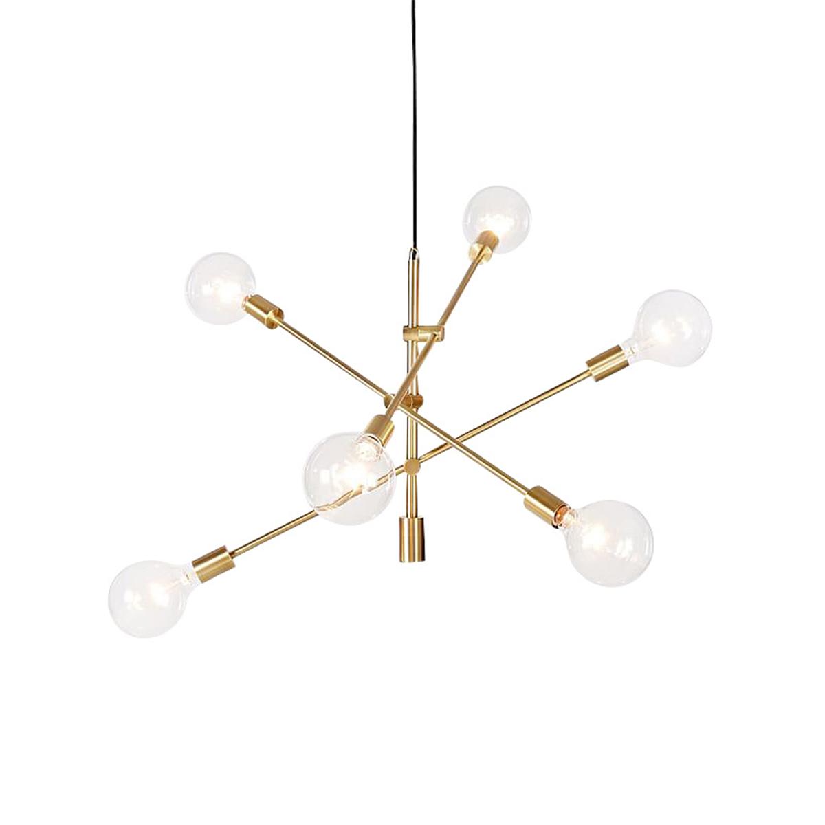 Modern chandeliers 6 lights pendant lamp industrial metal ceiling modern chandeliers 6 lights pendant lamp industrial metal aloadofball Choice Image