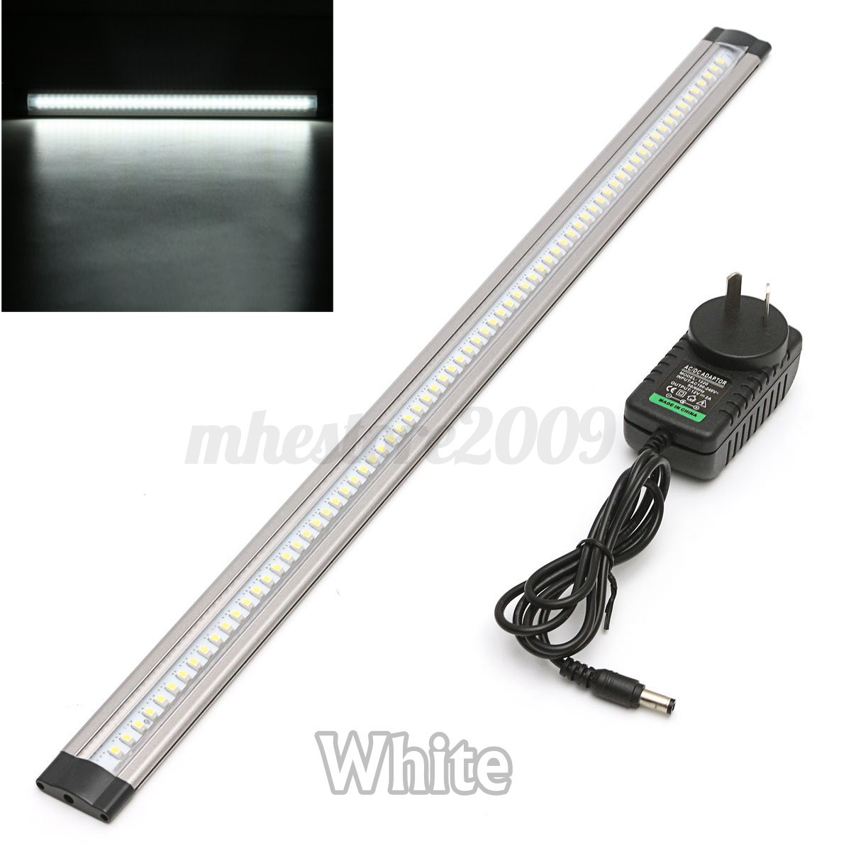 Modern 12v Kitchen Led Under Cabinet Lights Tubes 50cm: 50cm LED Under Cabinet Cupboard Counter Strip Light & AU