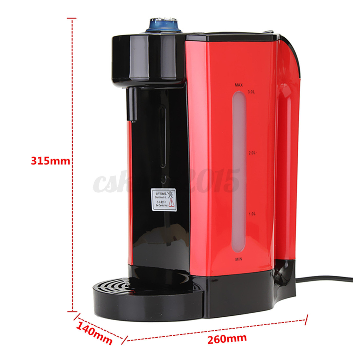 Coffee Maker Water Boiler Oxone : 3L Instant Hot Water Boiling Kettle Electric Heating Tea Coffee Maker Dispenser eBay