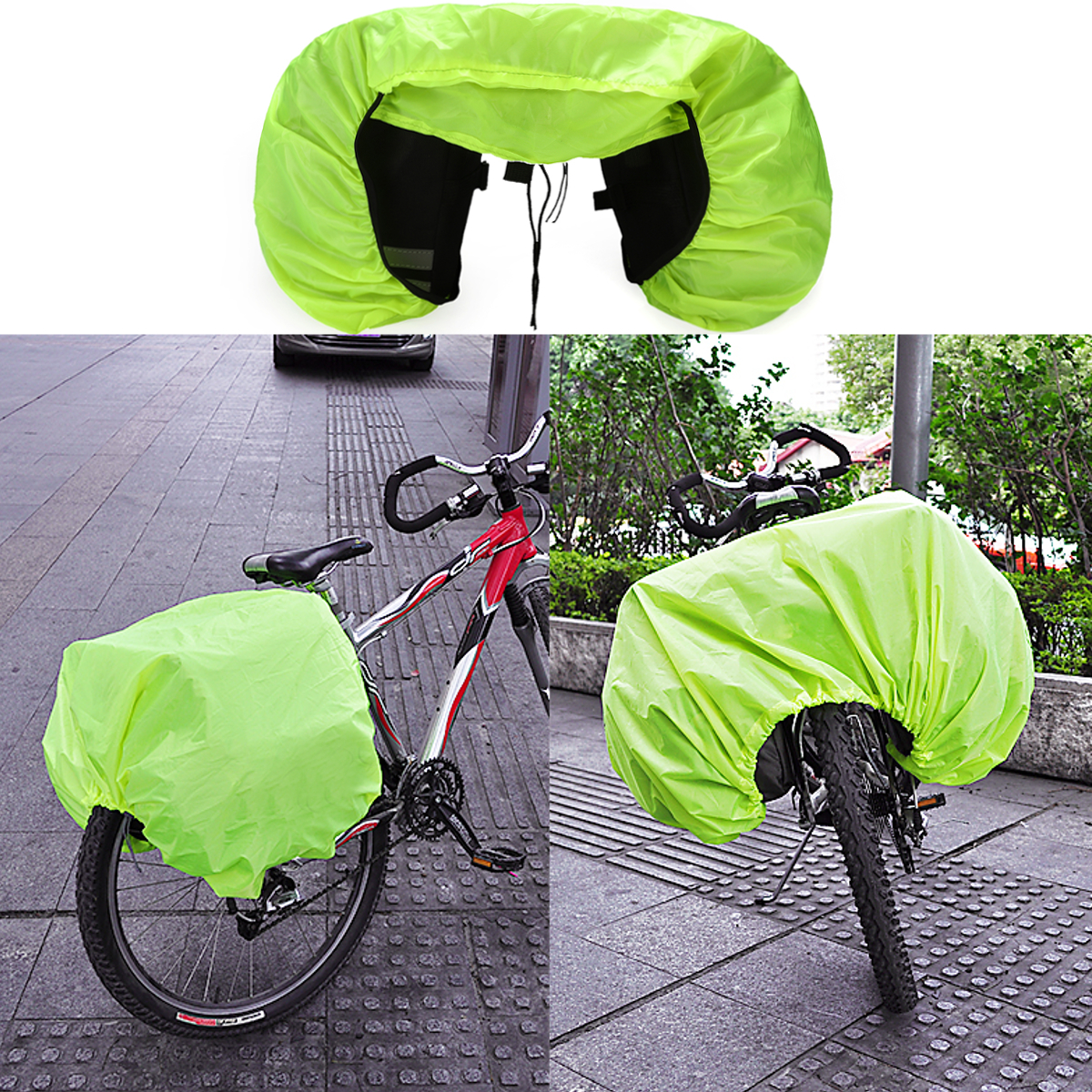 Package MTB Dus TBag Bicycle Waterproof Cover Riding Bike Rain Protection