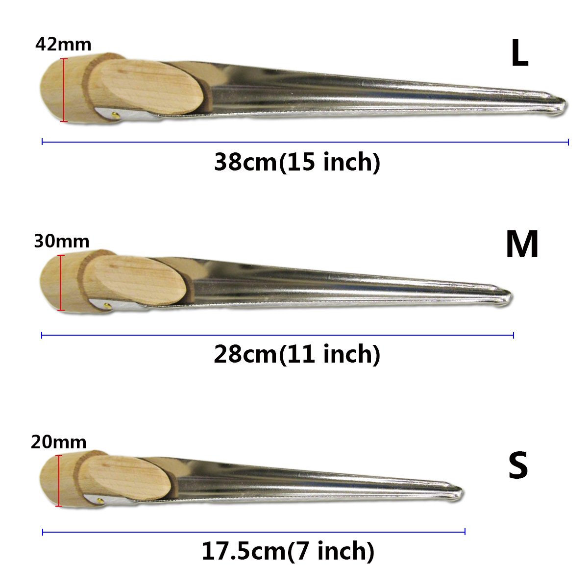 Large 280mm Stainless Steel Splicing Spike Fid Swedish Rope 3 Strand AS35