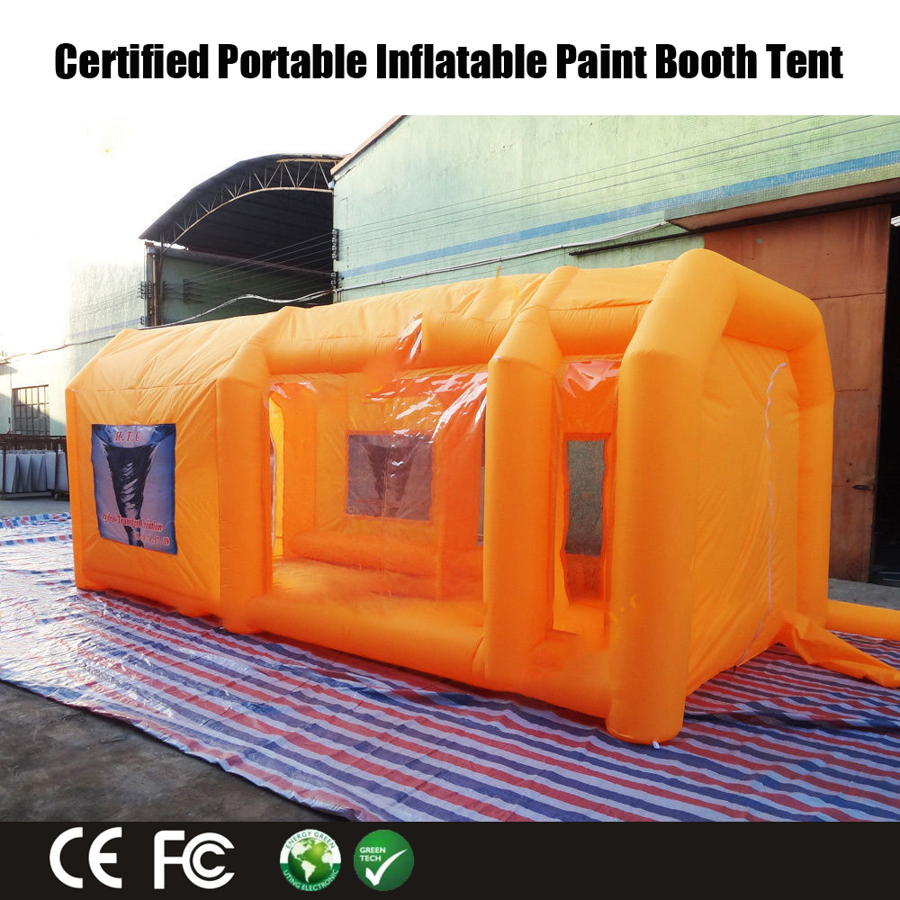 Inflatable Spray Paint Tent