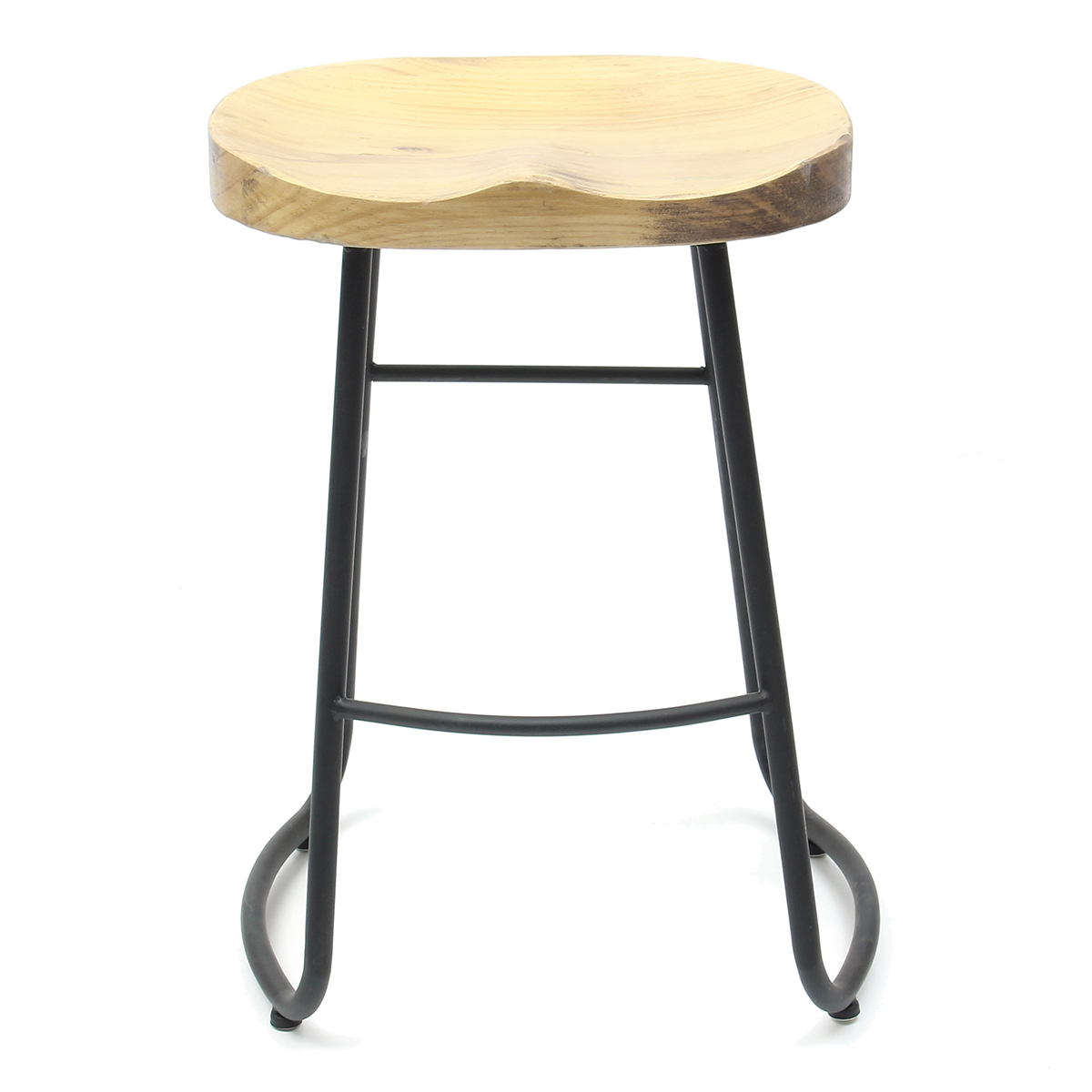 Prime Details About Vintage Bar Stool Retro Wooden Tractor Barstool Industrial Dining Chair 60Cm 1 Creativecarmelina Interior Chair Design Creativecarmelinacom