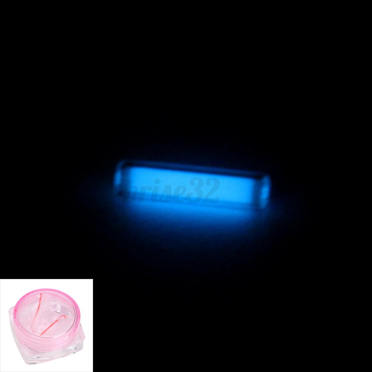 6mm DIY Waterproof Tiny Tritium Tube Fluorescent Glow In The Dark Dia. 1.5mm