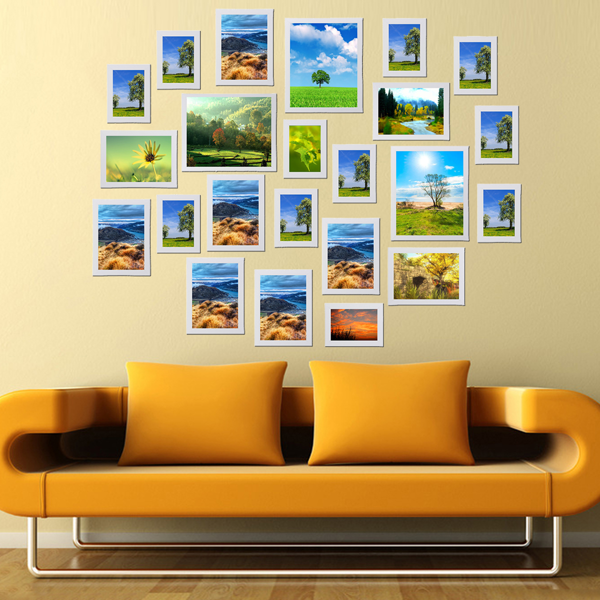 Multi Photo Frames Set Home Room Office Decor Picture Collage Wall ...