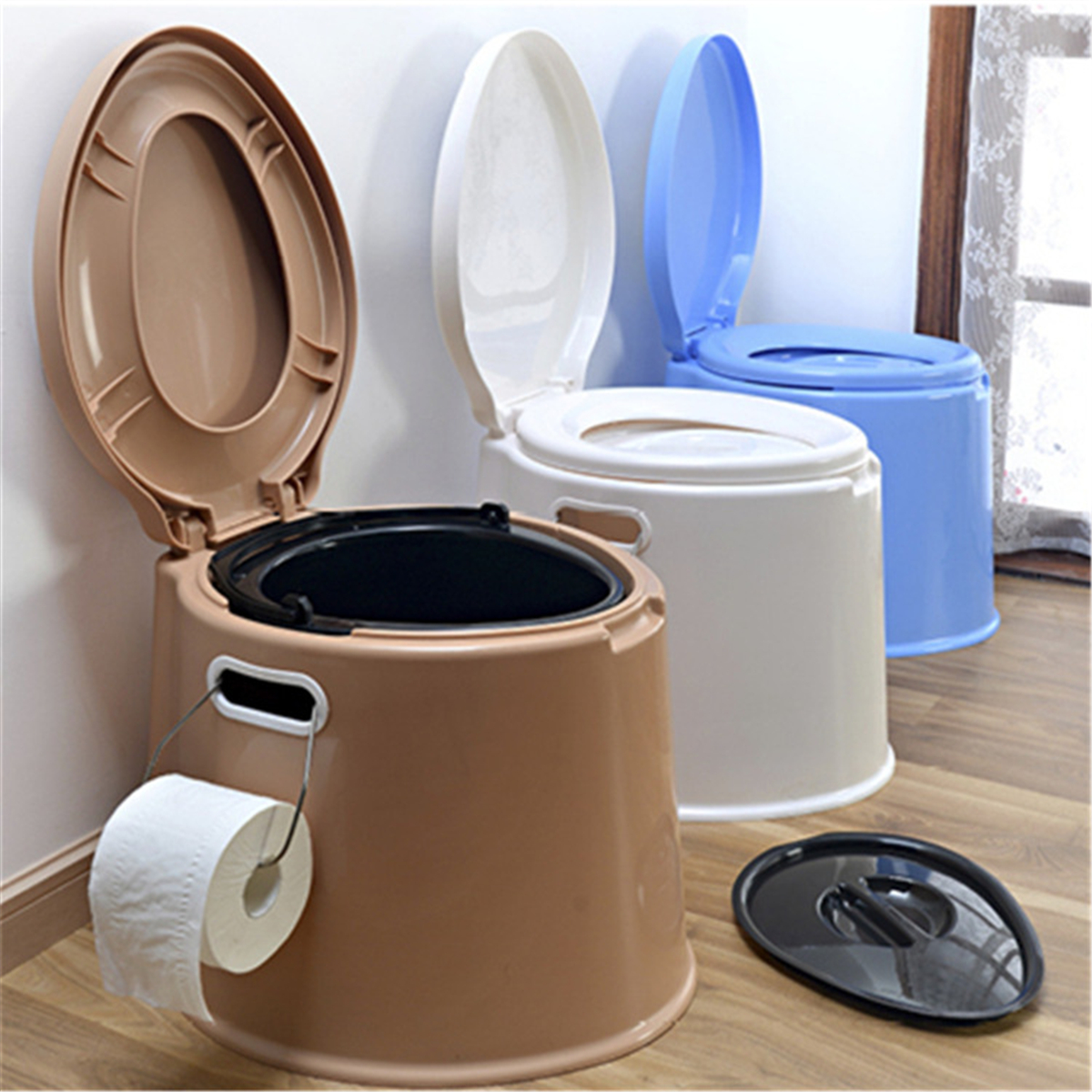 Portable Large Toilet Flush Travel Camping Hiking Outdoor Indoor ...