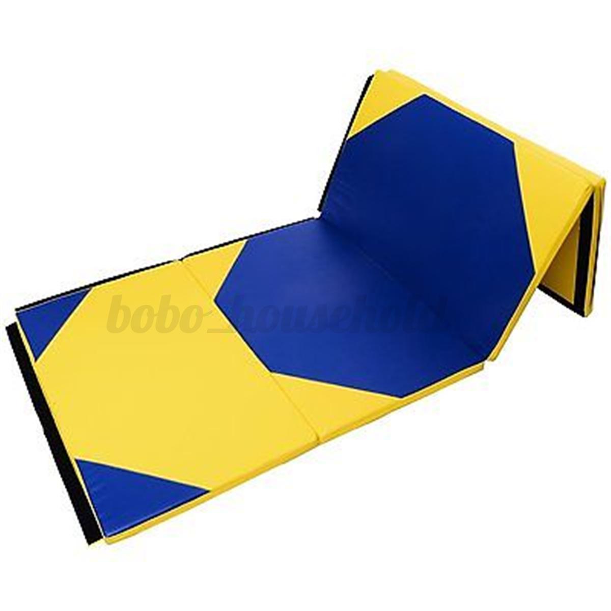 4 Size Foldable Gymnastic Mat GYM Exercise Yoga Crash
