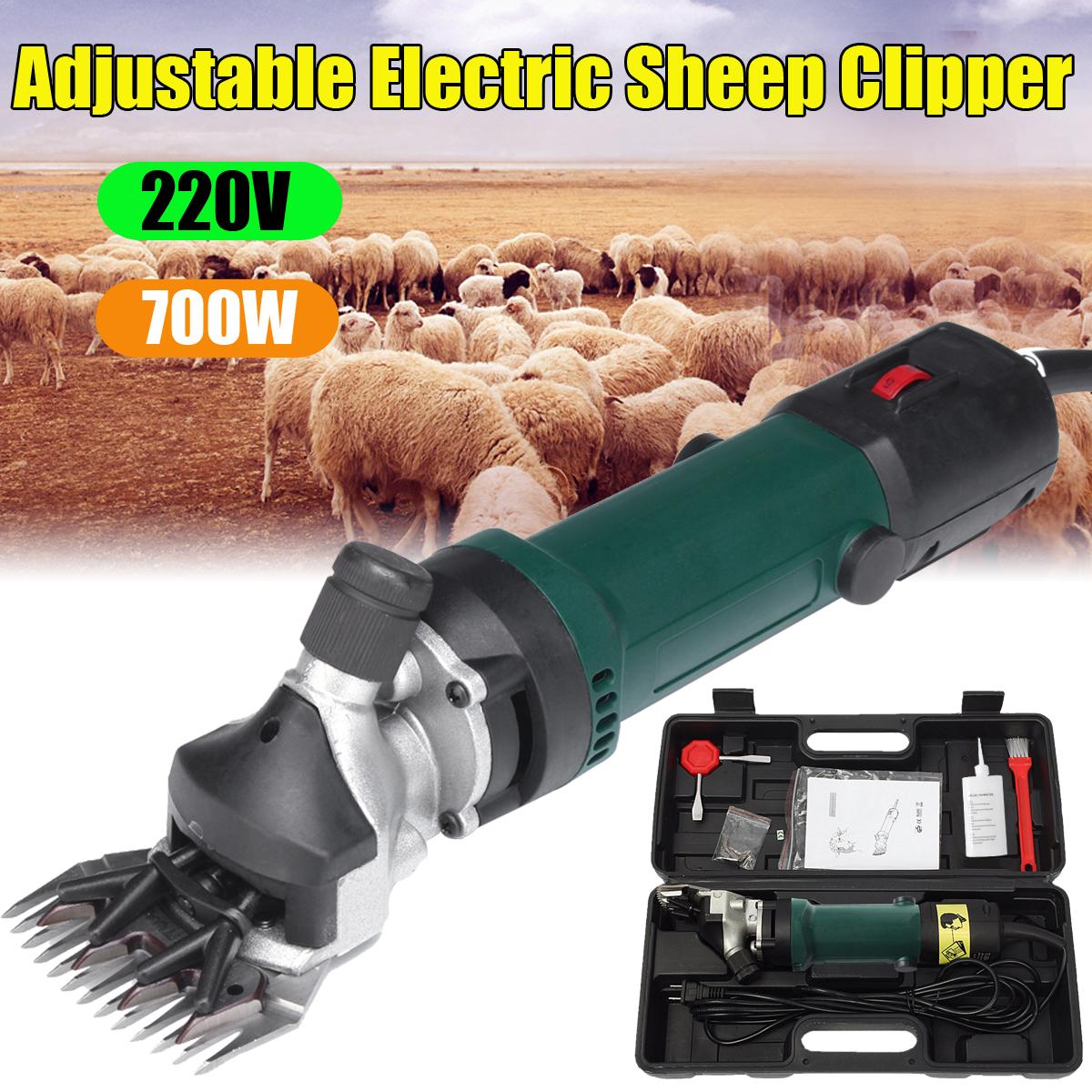 220V Electric Shear Shearing Clipper Animal Sheep Goat Pet Farm Machine On Sale