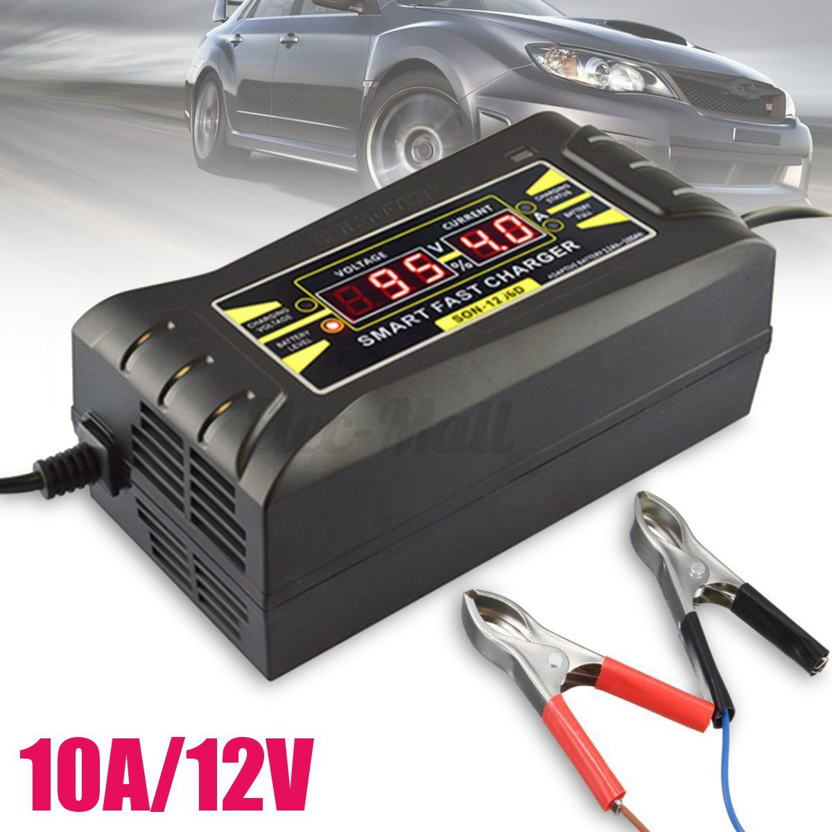12v 5a 6a 10a smart car motorcycle pwm battery charger. Black Bedroom Furniture Sets. Home Design Ideas