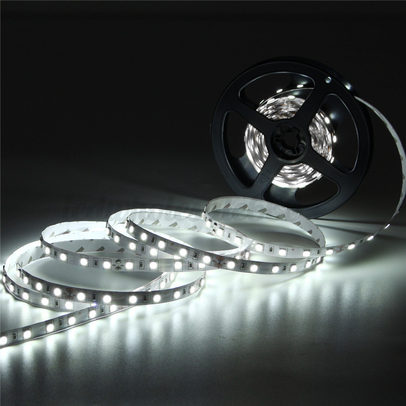 5m 24v 5050smd 300 led strip streifen licht band leiste wasserdicht wei warm ebay. Black Bedroom Furniture Sets. Home Design Ideas
