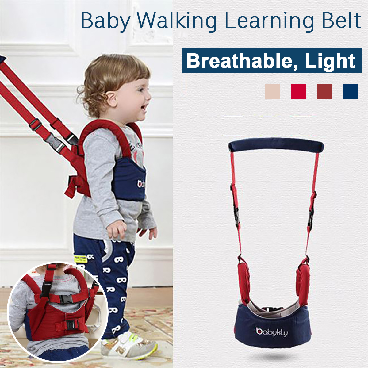 Baby Kids Safety Wing Walking Harness Toddler Anti-lost Belt Backpack Reins Line