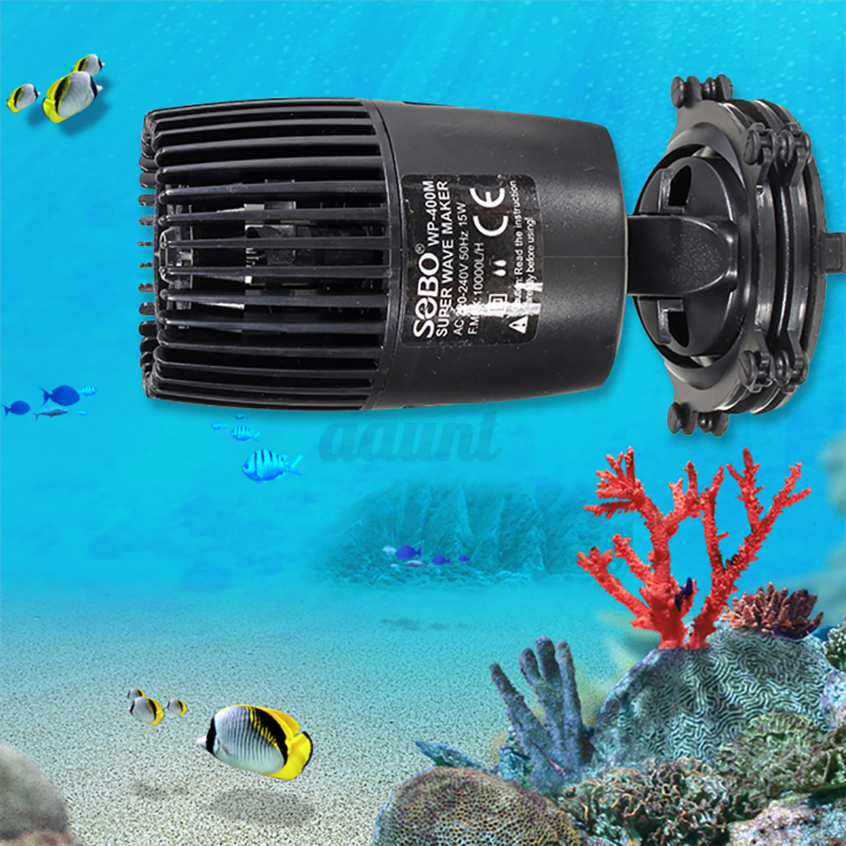 Aquarium wave maker fish tank powerhead water pump reef for Fish water pump