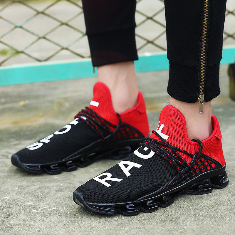 UK Men Sneakers Casual Sports Athletic Breathable Running shoes Outdoor Trainers